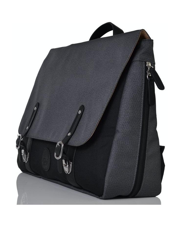 Prescott Combi Nappy Bag - black charcoal image 3