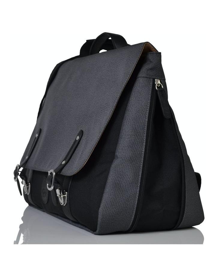 Prescott Combi Nappy Bag - black charcoal image 4