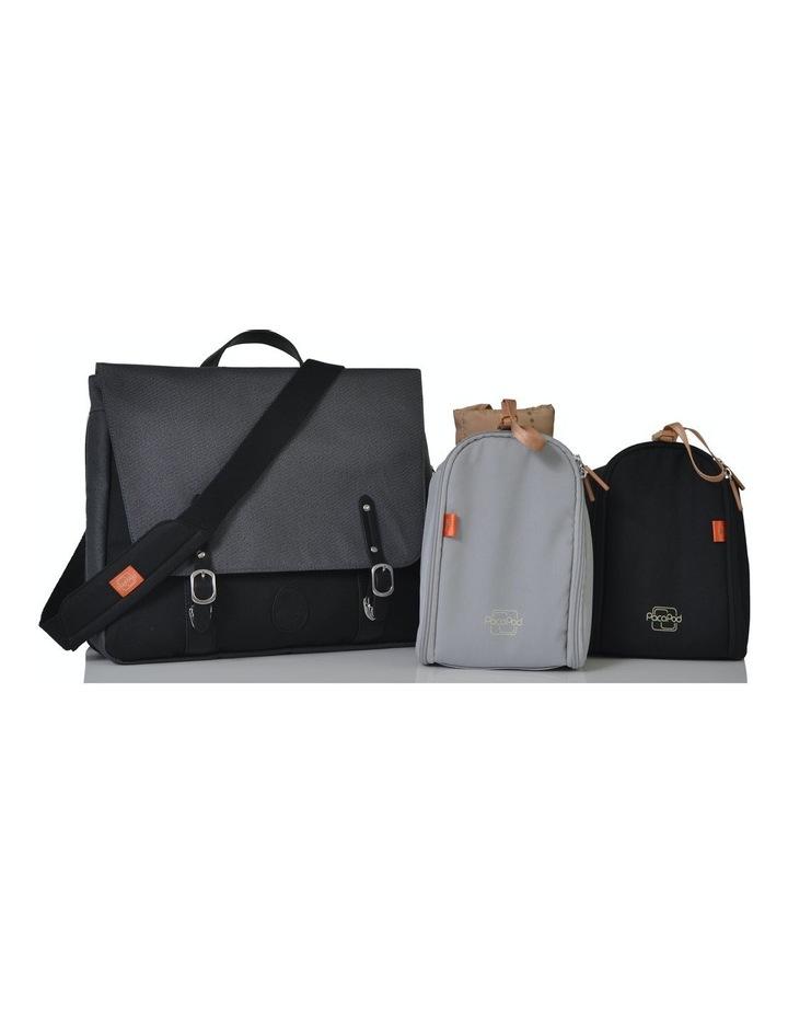 Prescott Combi Nappy Bag - black charcoal image 5