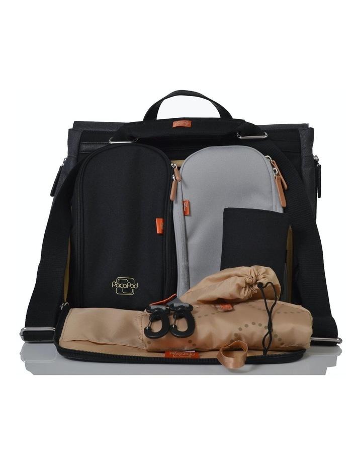 Prescott Combi Nappy Bag - black charcoal image 6