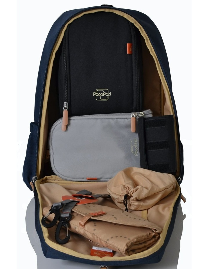 Picos Pack Nappy Bag - navy image 2