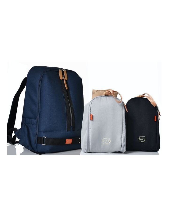 Picos Pack Nappy Bag - navy image 3