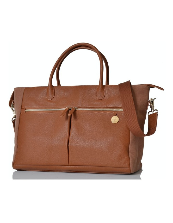Fortuna Nappy Bag - tan image 1
