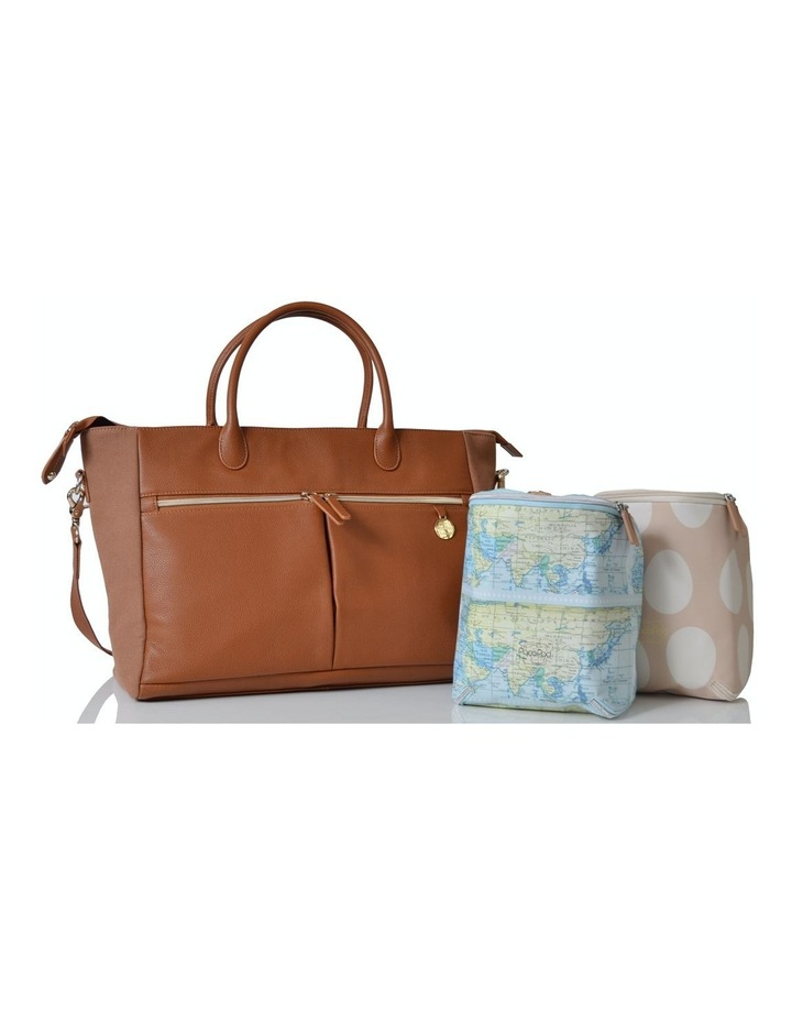 Fortuna Nappy Bag - tan image 5