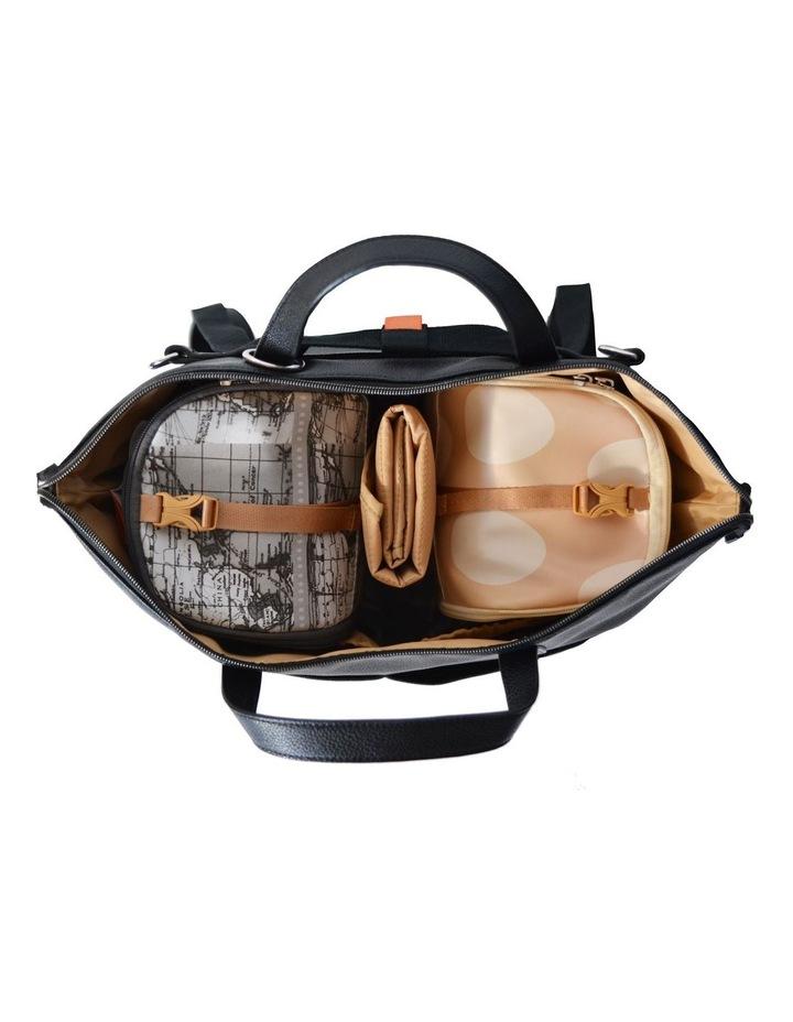 Saunton Nappy Bag - black image 3