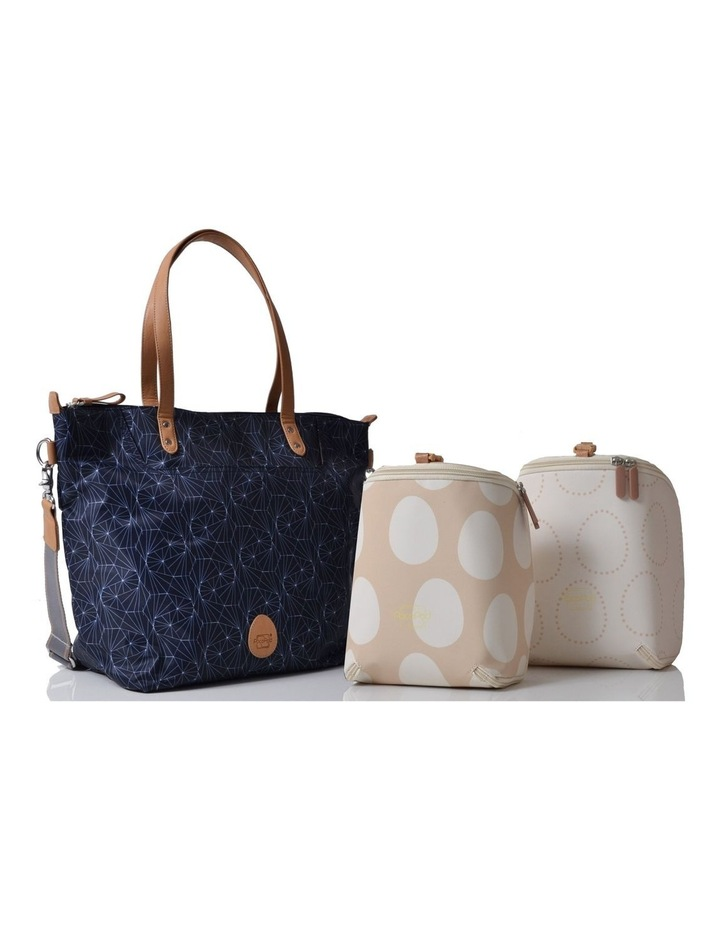 Colby - Navy Nappy Bag image 3