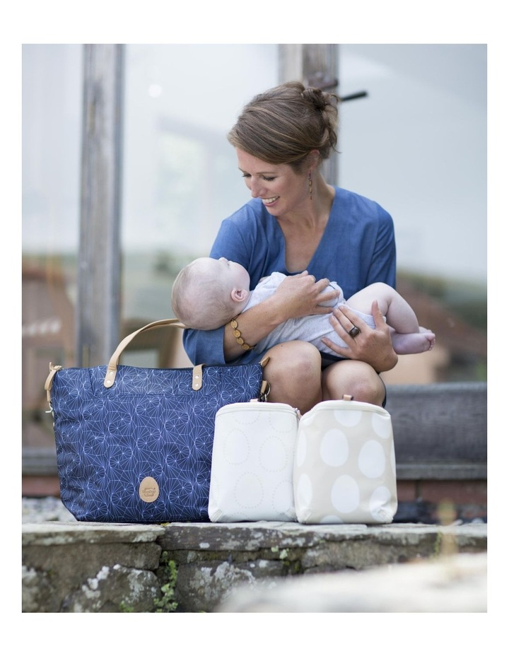 Colby - Navy Nappy Bag image 4