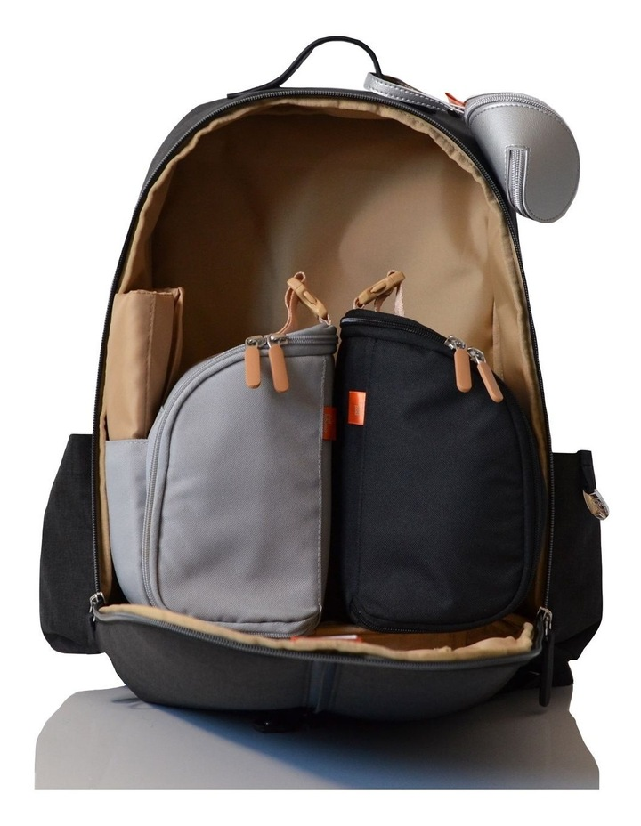 Picos Pack 2020 Nappy Bag - carbon image 3