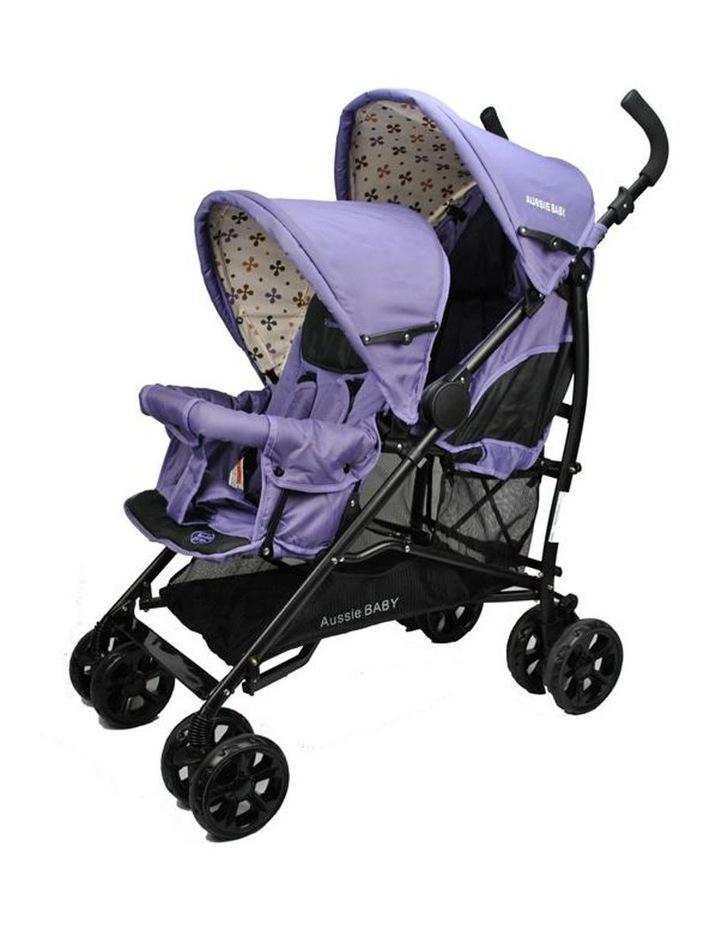 Vitesse Deux Tandem Stroller - Purple image 1