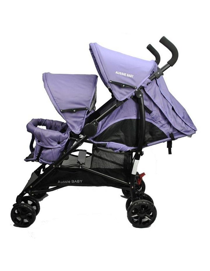 Vitesse Deux Tandem Stroller - Purple image 2
