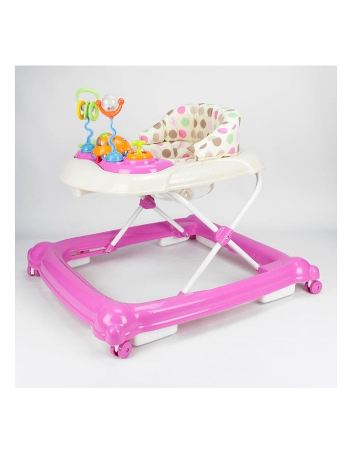 Baby Walker Play Activity Centre - Pink image 2