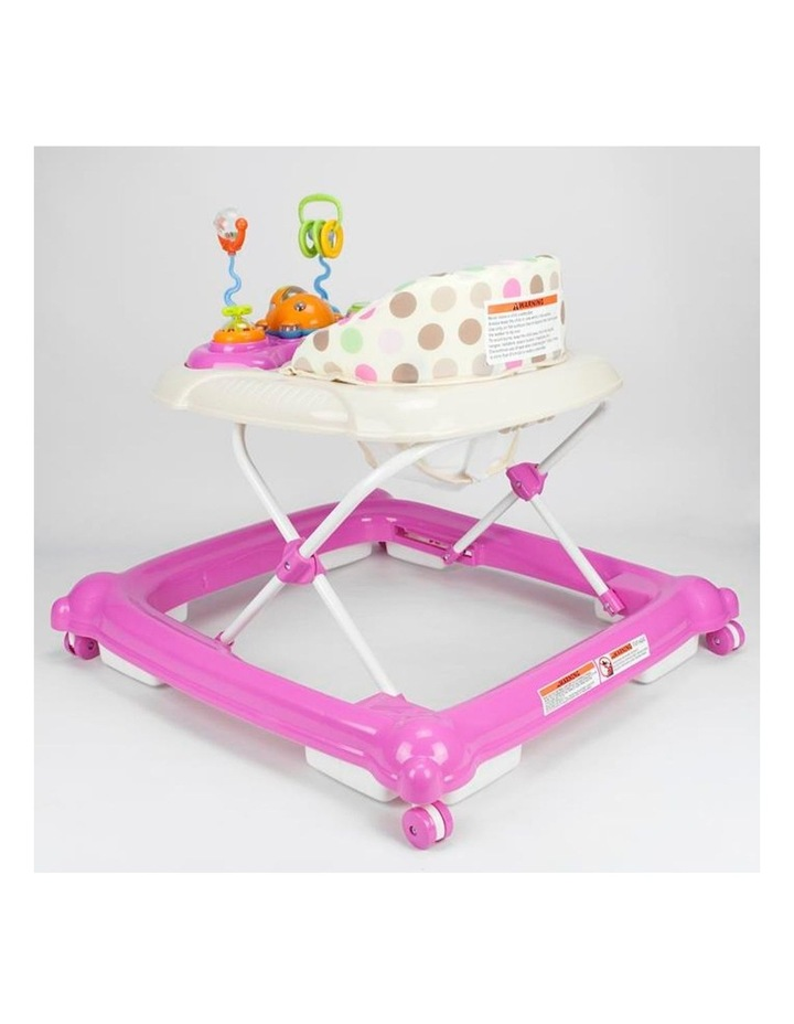 Baby Walker Play Activity Centre - Pink image 3