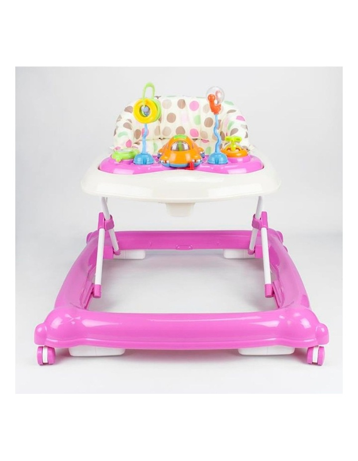 Baby Walker Play Activity Centre - Pink image 5