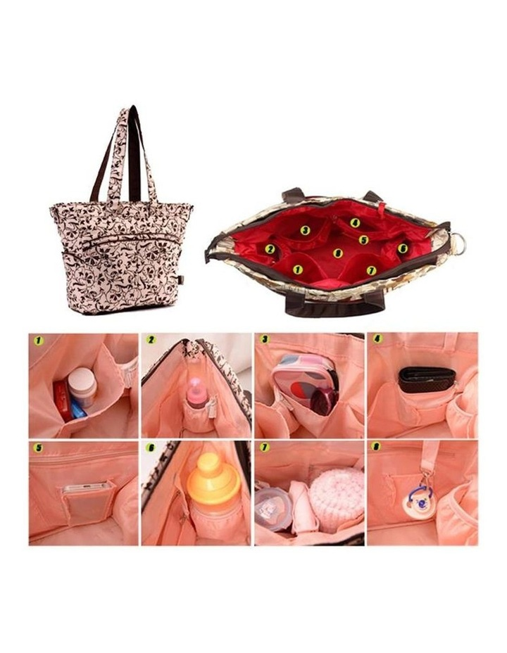 Bellotte Baroque Pink Nappy Bag image 2