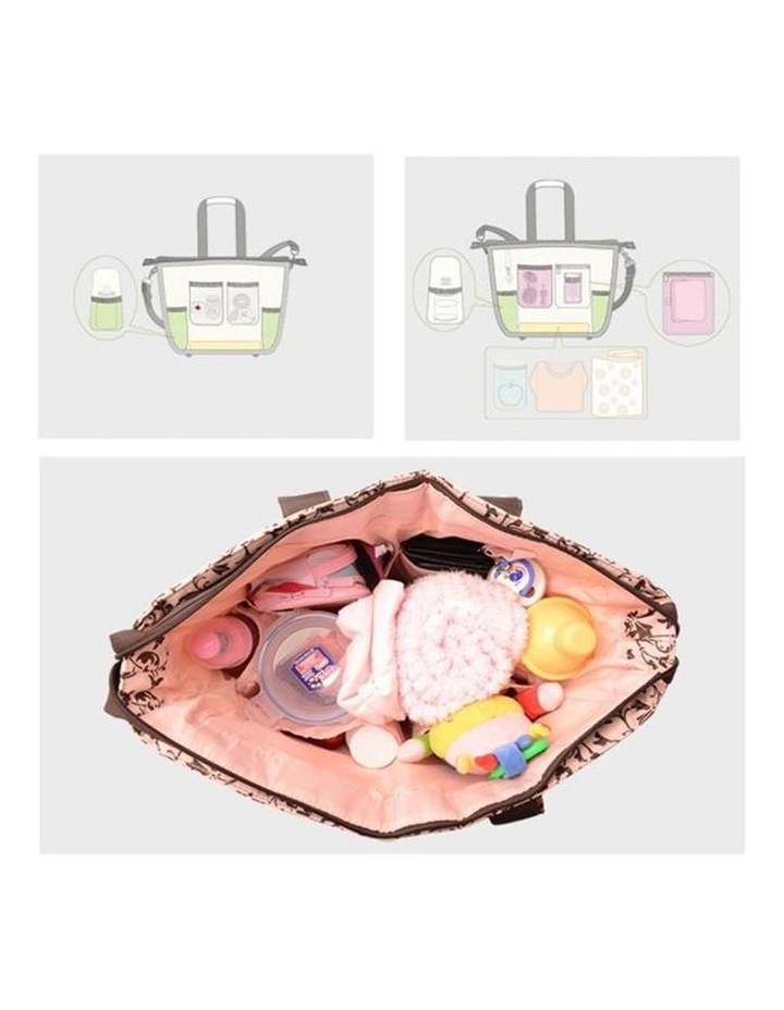 Bellotte Baroque Pink Nappy Bag image 3