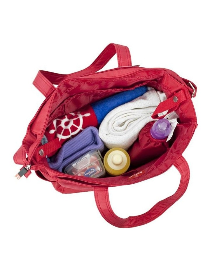 Bellotte Bear Tote Nappy Bag - Red image 4