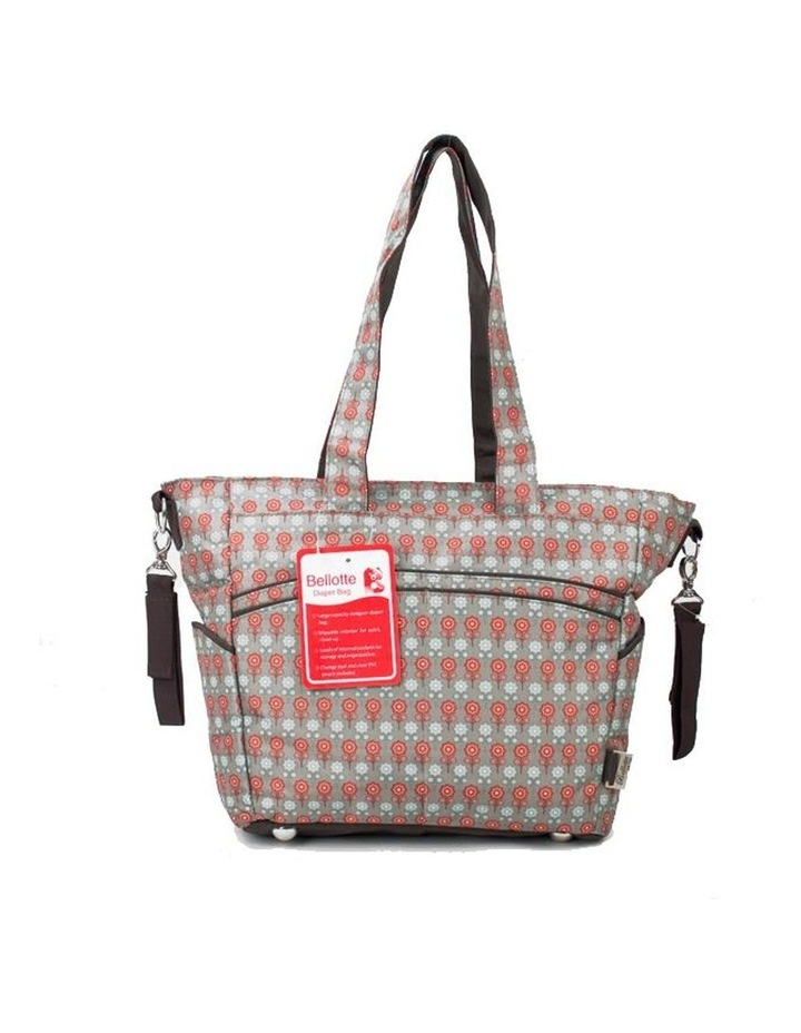 Bellotte Stylish Flower Tote Nappy Bag image 1
