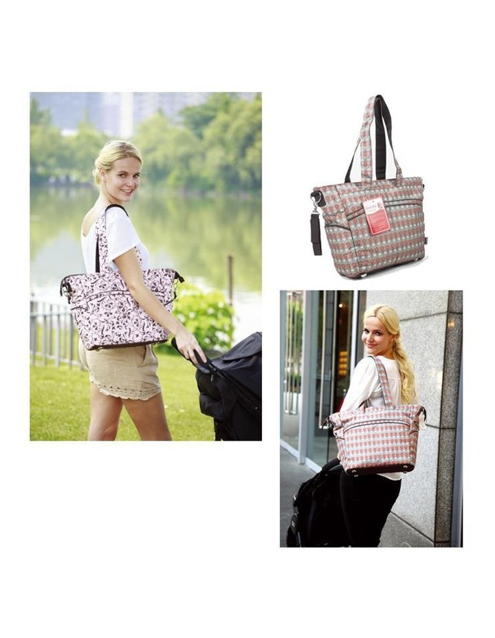 Bellotte Stylish Flower Tote Nappy Bag image 3