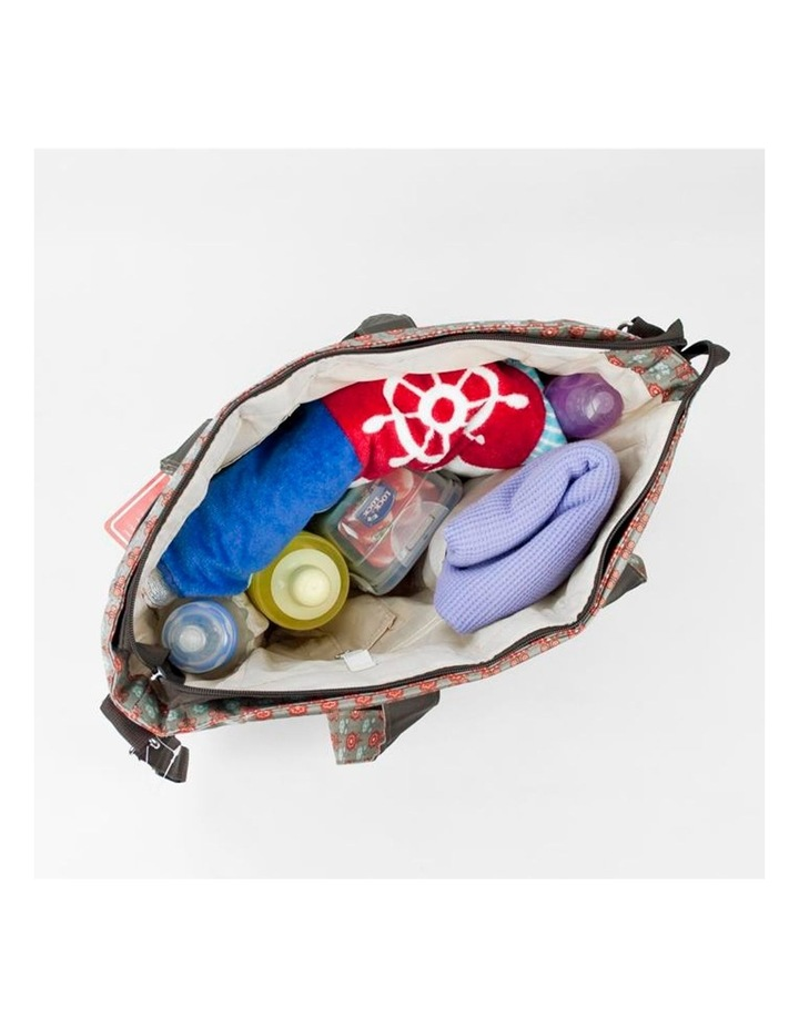 Bellotte Stylish Flower Tote Nappy Bag image 4