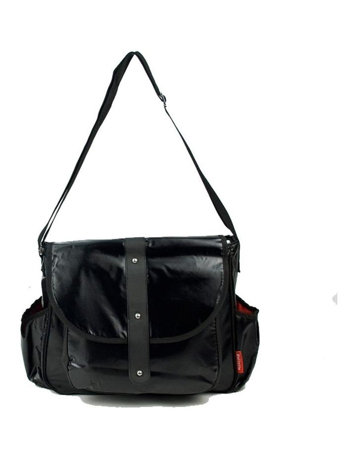 Bellotte Satchel Nappy Bag - Shiny Black image 1