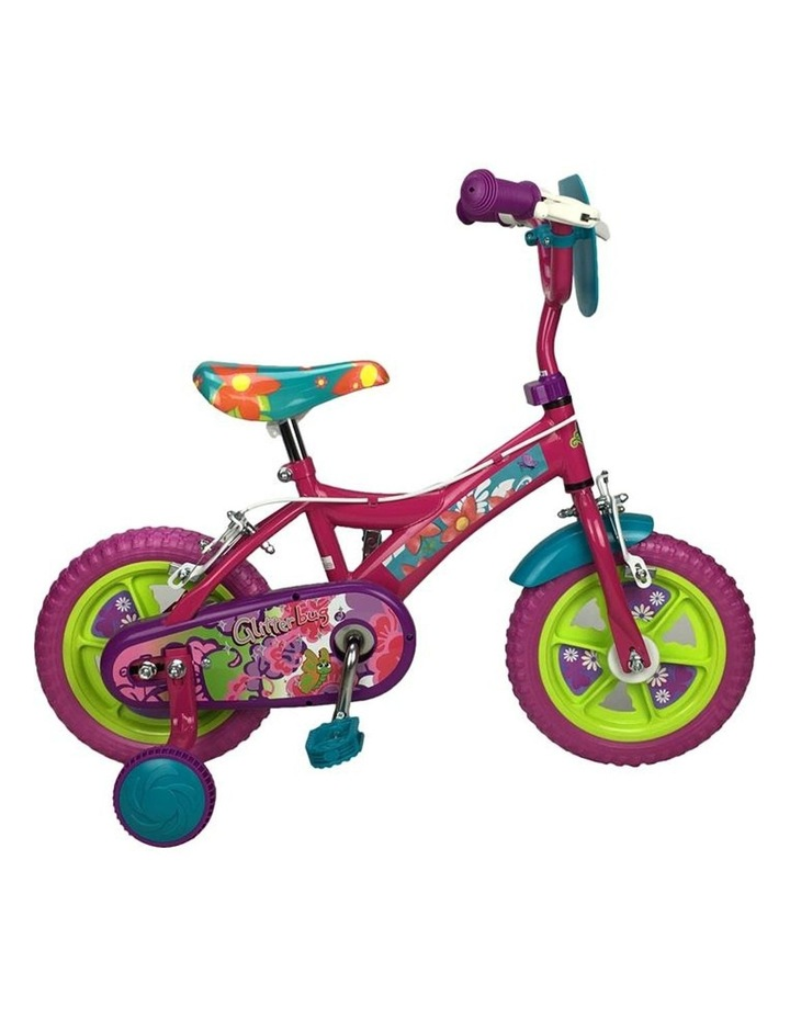 Sparkle Fuchsia Flower 12 Inch Girls Pavement Cycle image 2