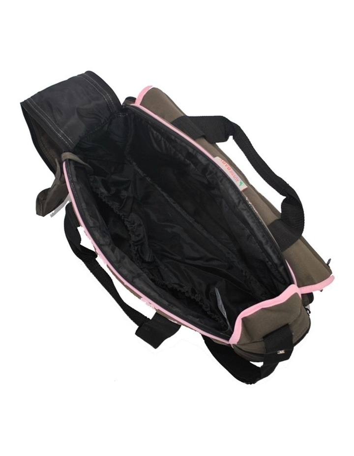 Out & About Carry All Travel Nappy Bag w/ Thermal Bottle Holder - Pink image 2