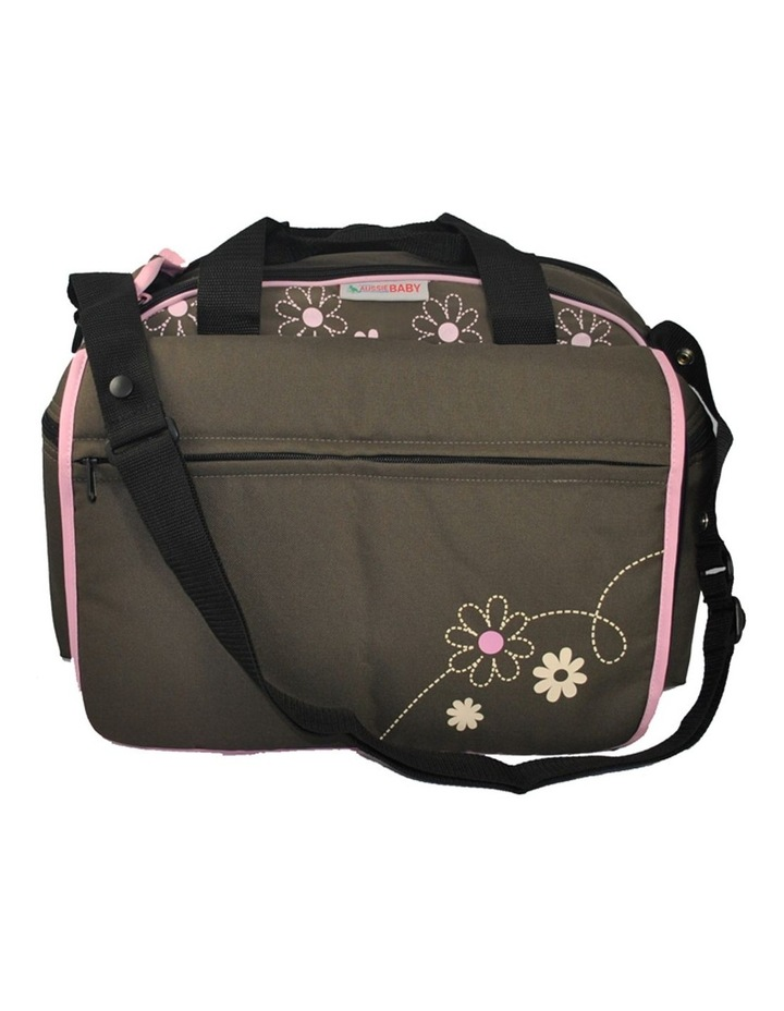 Out & About Carry All Travel Nappy Bag w/ Thermal Bottle Holder - Pink image 3