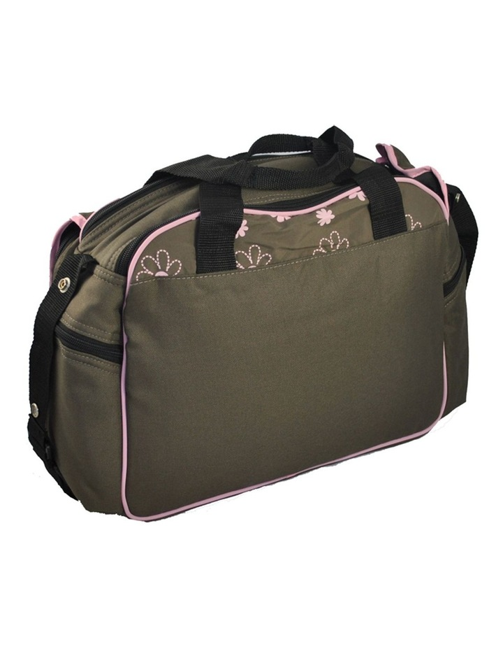 Out & About Carry All Travel Nappy Bag w/ Thermal Bottle Holder - Pink image 4