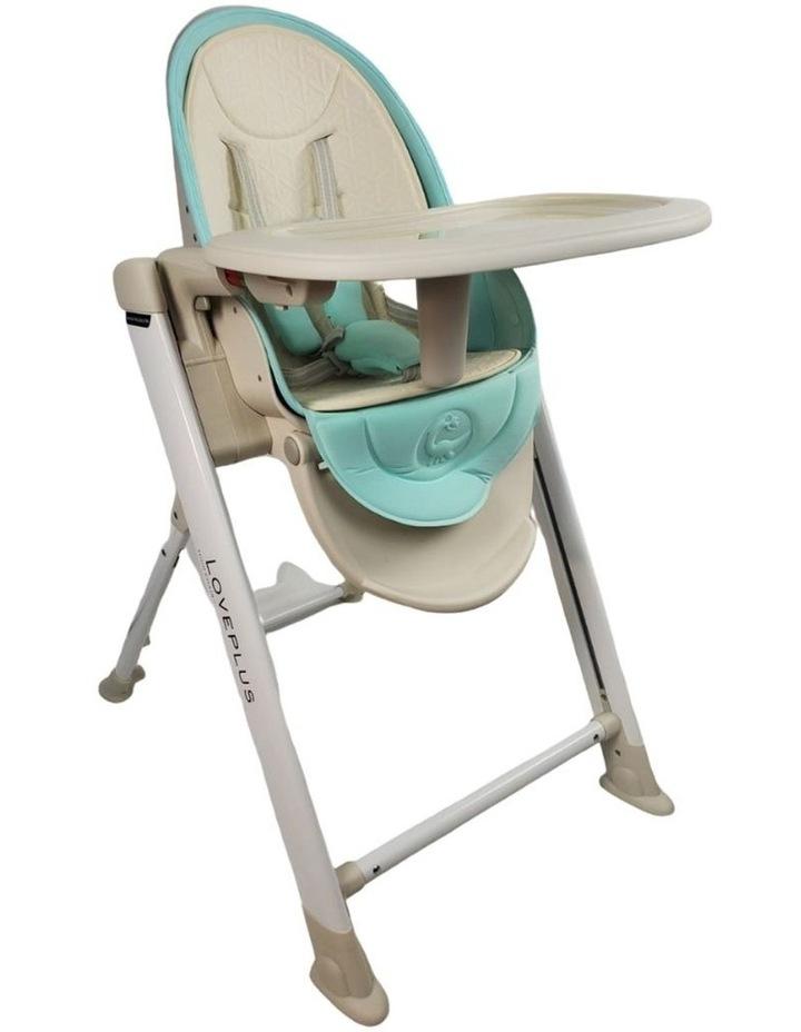 Aussie Baby Love Plus High Chair - Blue image 1
