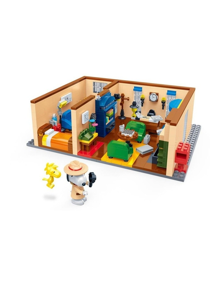 BanBao Peanuts - Agent Snoopy Mystery House 7526 image 2