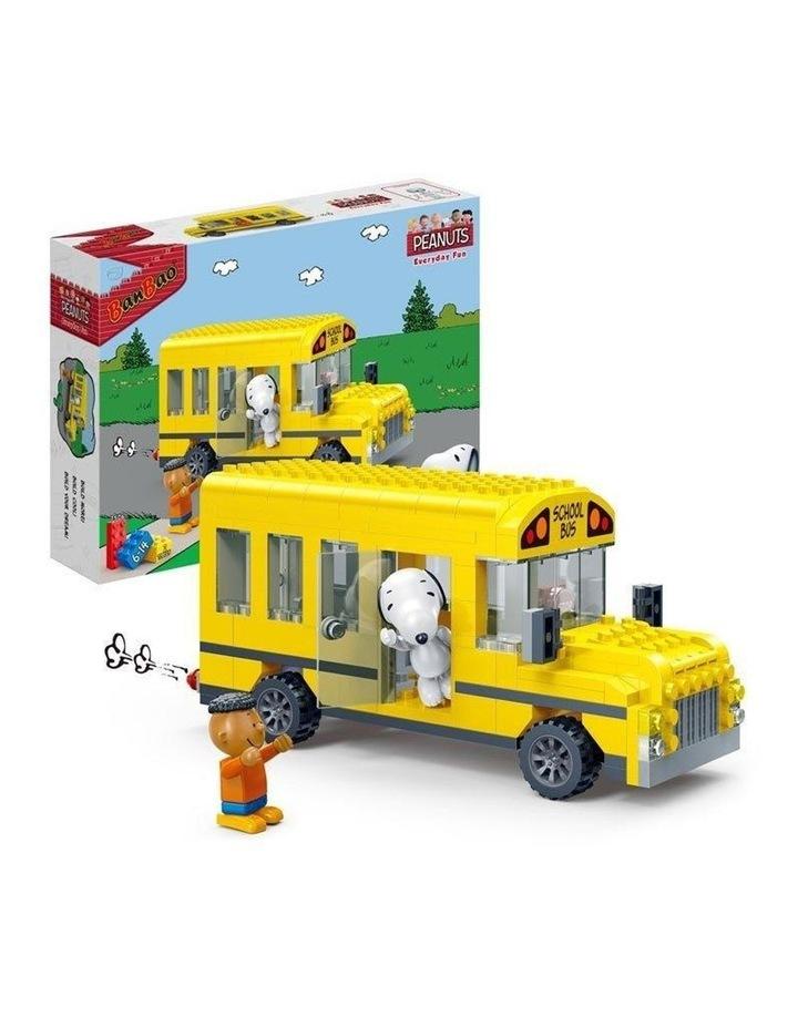 BanBao Peanuts - Snoopy's School Bus 7506 image 2
