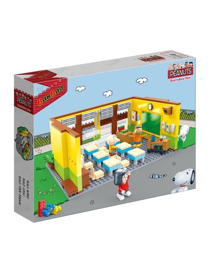 BanBao Peanuts - Snoopy Classroom 7501 image 1