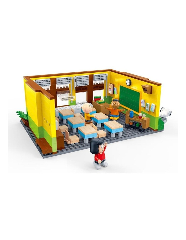 BanBao Peanuts - Snoopy Classroom 7501 image 2