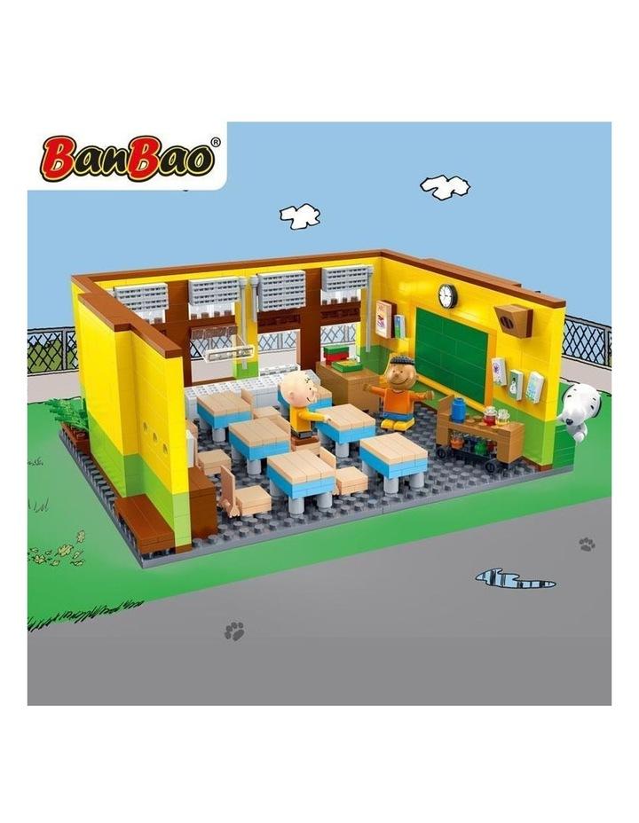 BanBao Peanuts - Snoopy Classroom 7501 image 3