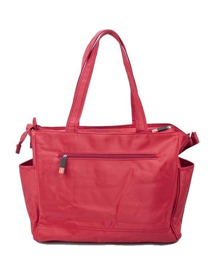 Bear Tote Nappy Bag - Red image 1