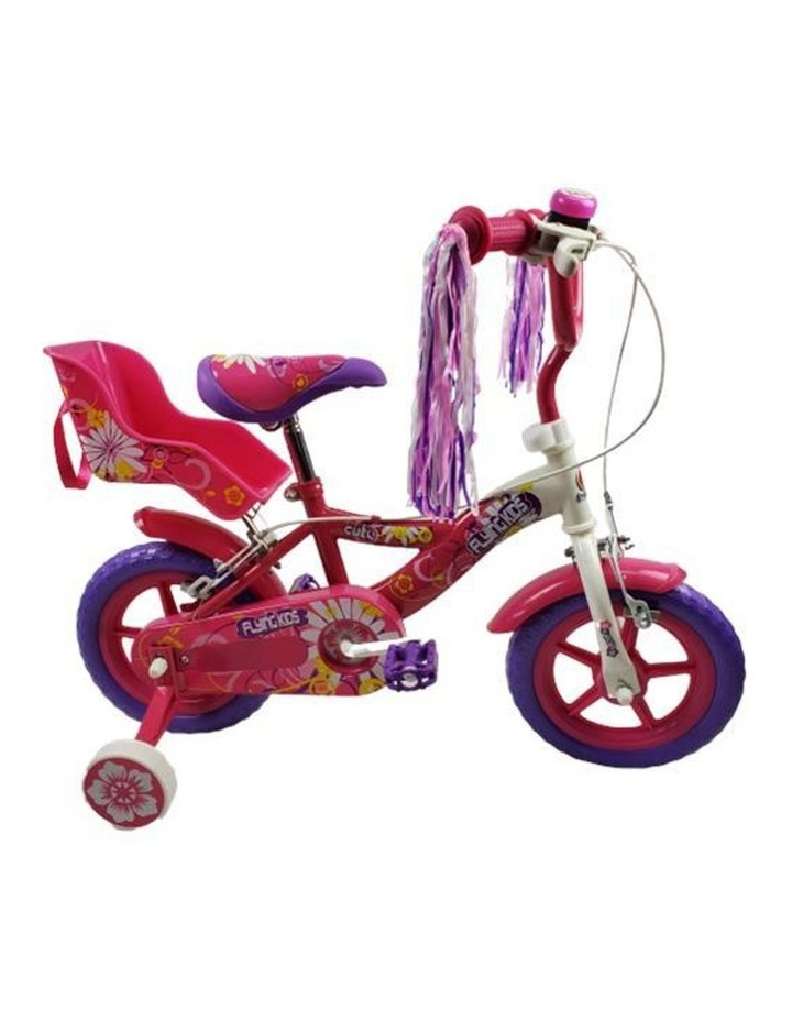 Super Max Flying Kids Girl 12 Inch Pavement Cycle Kids Bike image 1