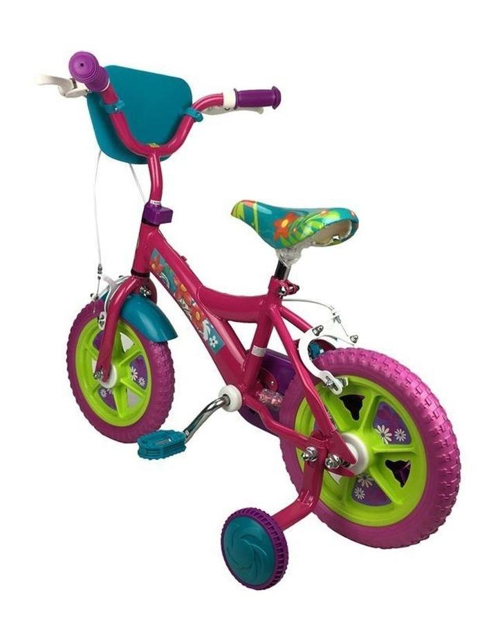 "Sparkle Fuchsia Flower 12"" Pavement Cycle Bike image 3"