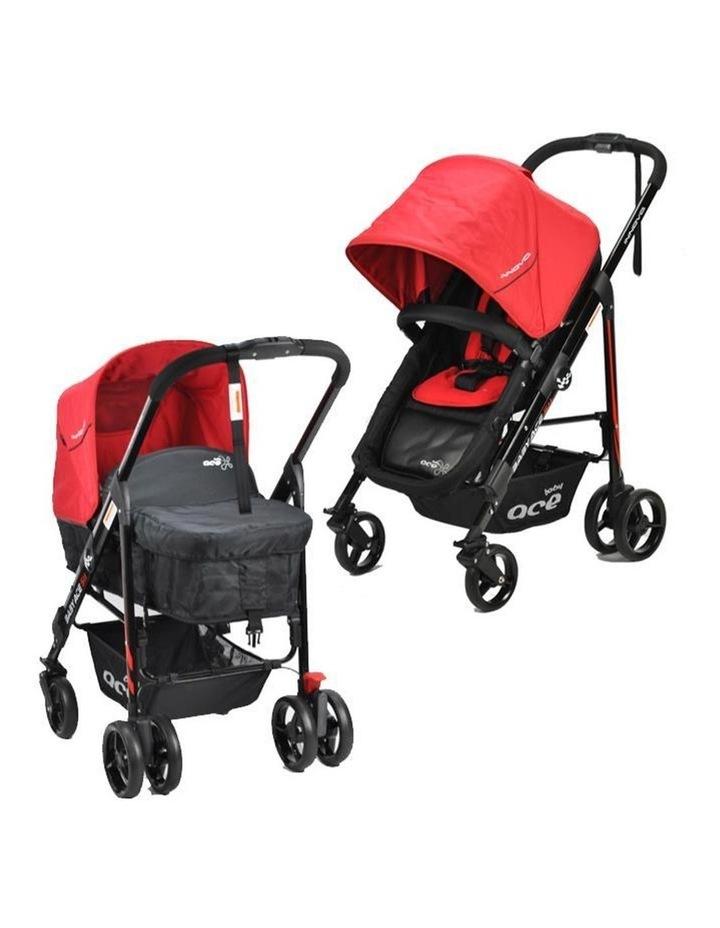 Baby Ace Innova Stroller - Red image 1