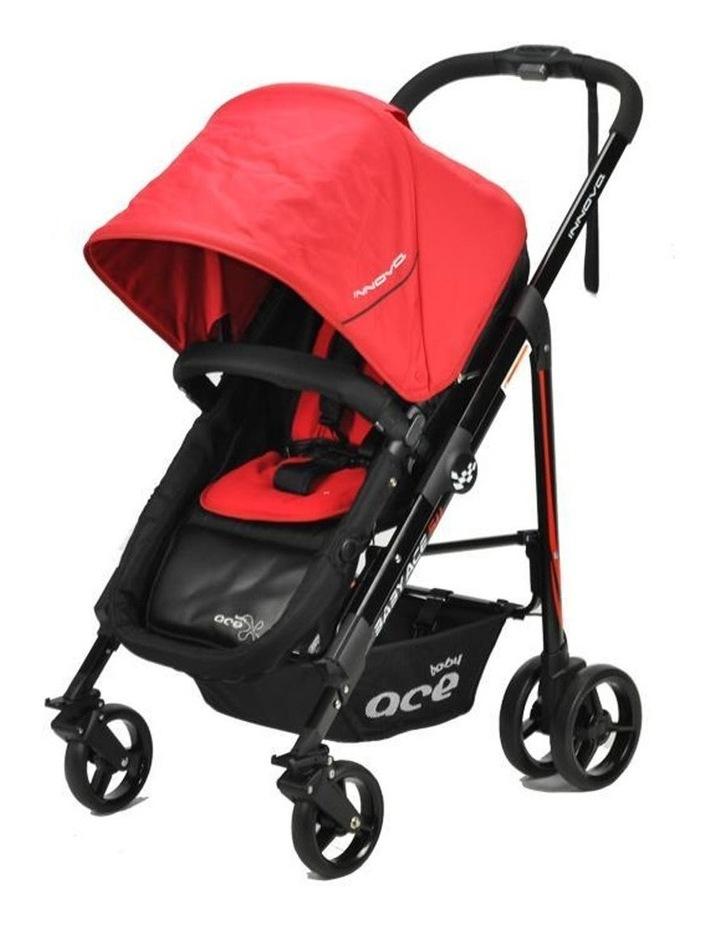 Baby Ace Innova Stroller - Red image 2