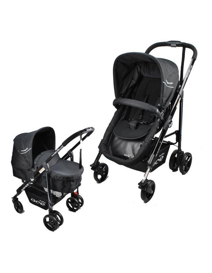 Baby Ace Innova Stroller - Black image 1