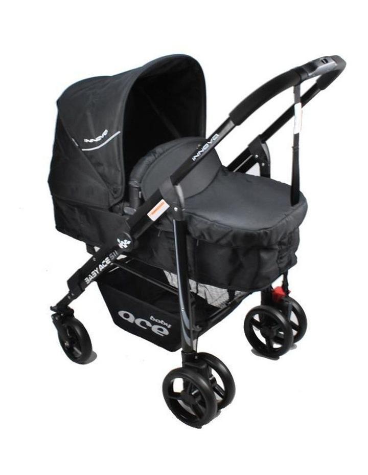 Baby Ace Innova Stroller - Black image 3