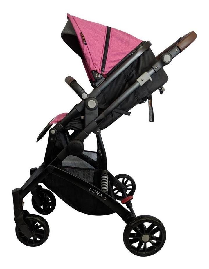 Luna Stroller - Pink image 3