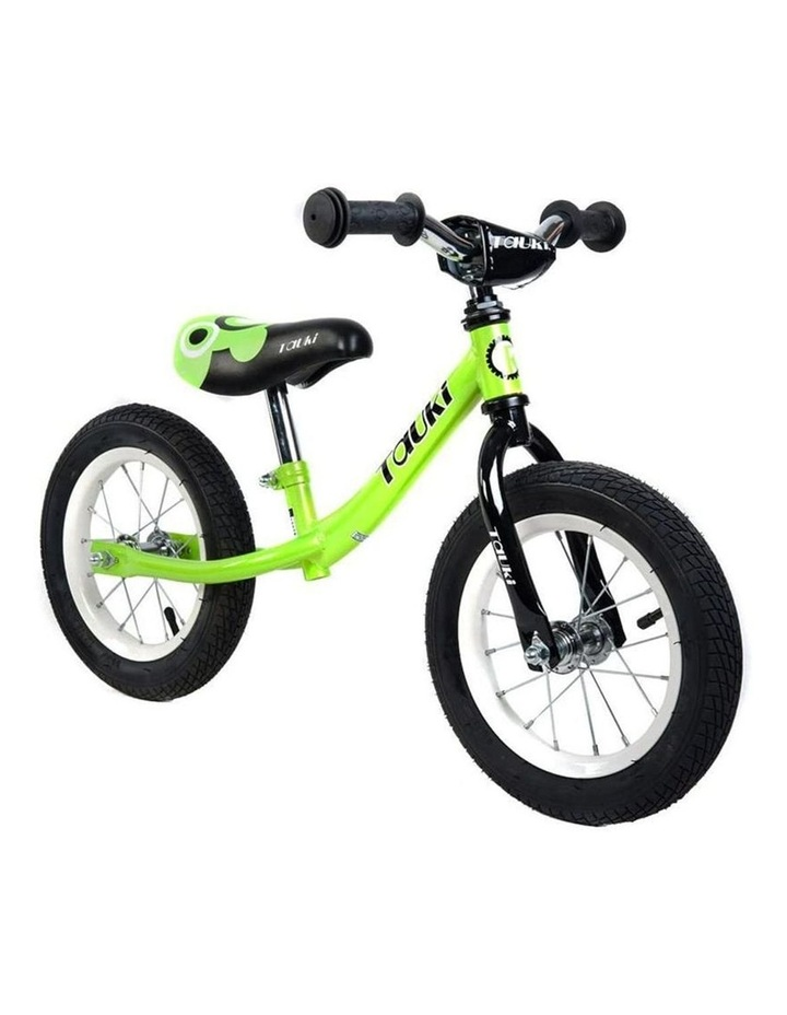 Kid Balance Bike No Pedal Push Bicycle 12 Inch - Green image 1