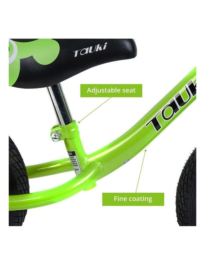Kid Balance Bike No Pedal Push Bicycle 12 Inch - Green image 3