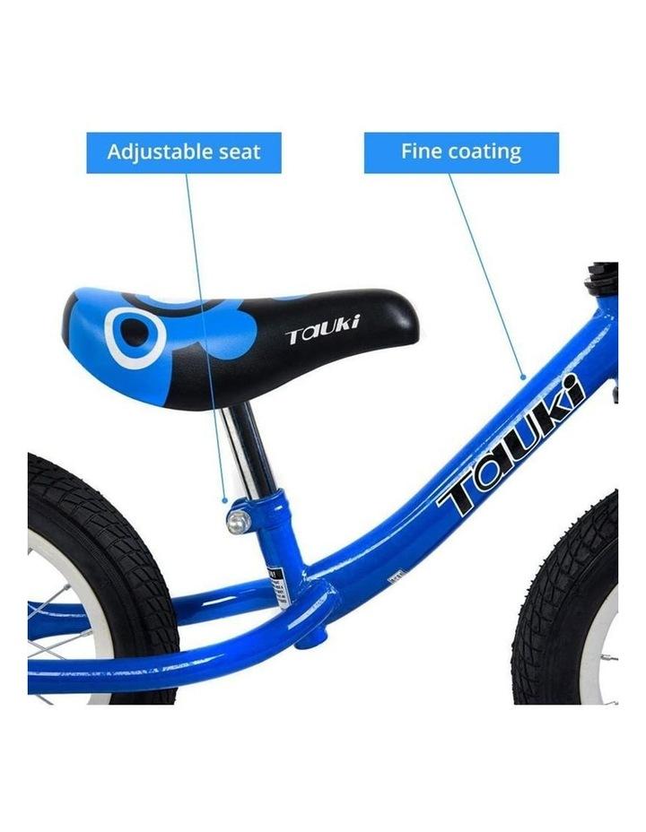 Kid Balance Bike No Pedal Push Bicycle 12 Inch - Blue image 3