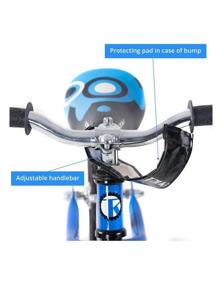 Kid Balance Bike No Pedal Push Bicycle 12 Inch - Blue image 4