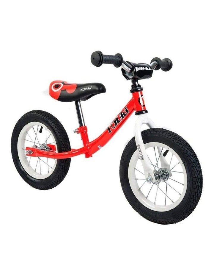 Kid Balance Bike No Pedal Push Bicycle 12 Inch - Red image 1