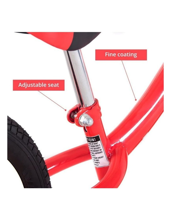 Kid Balance Bike No Pedal Push Bicycle 12 Inch - Red image 3