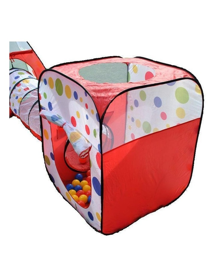Wonder Castle Play Tent Ball House and Tunnel with 200 Soft Balls image 3