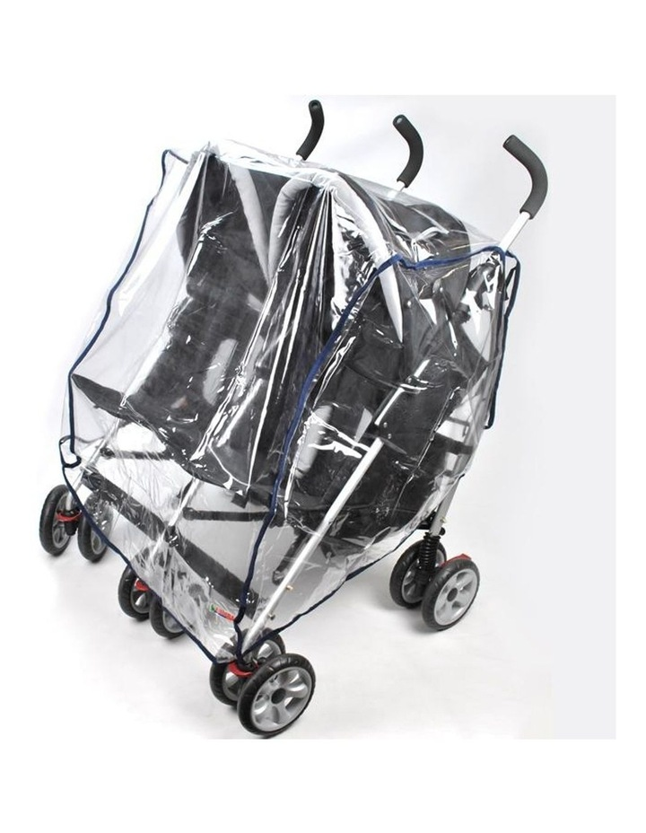 Rain Storm Cover - Side-By-Side Double Pram image 1